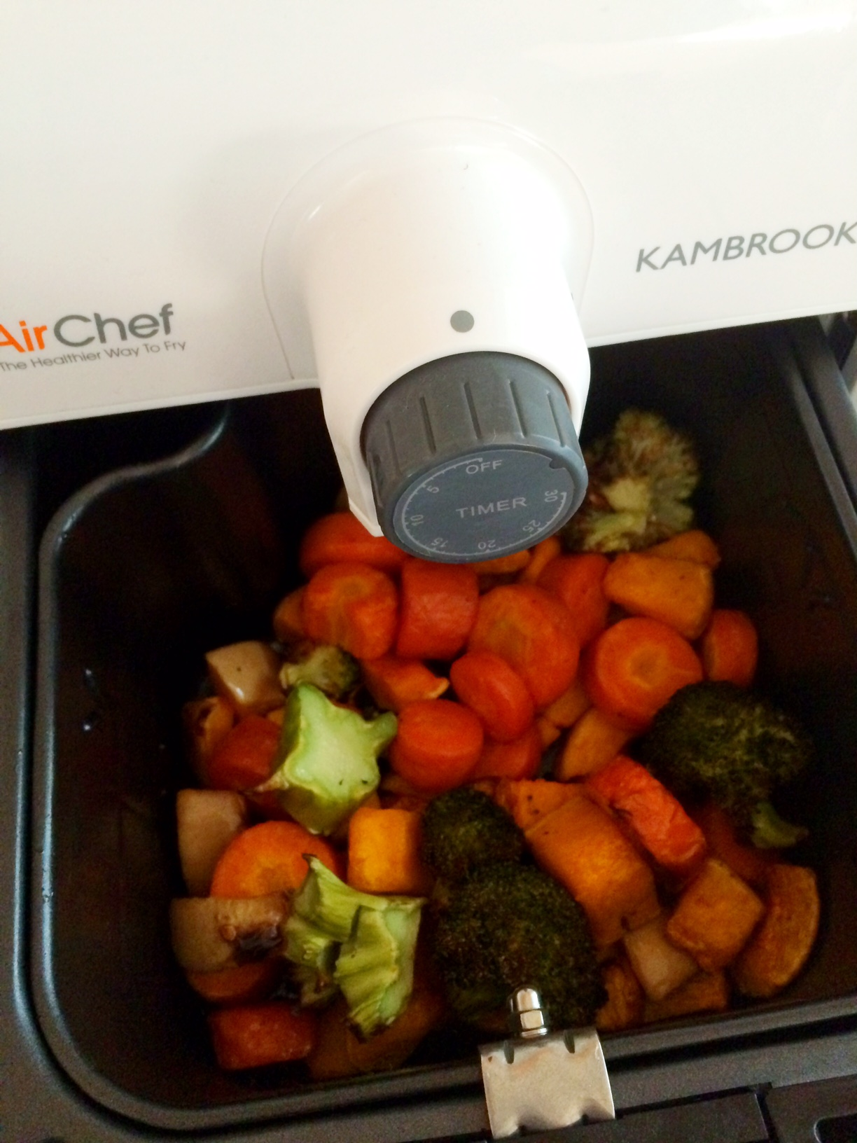 kambrook air chef air fryer oven review and recipes cooking for busy mums. Black Bedroom Furniture Sets. Home Design Ideas